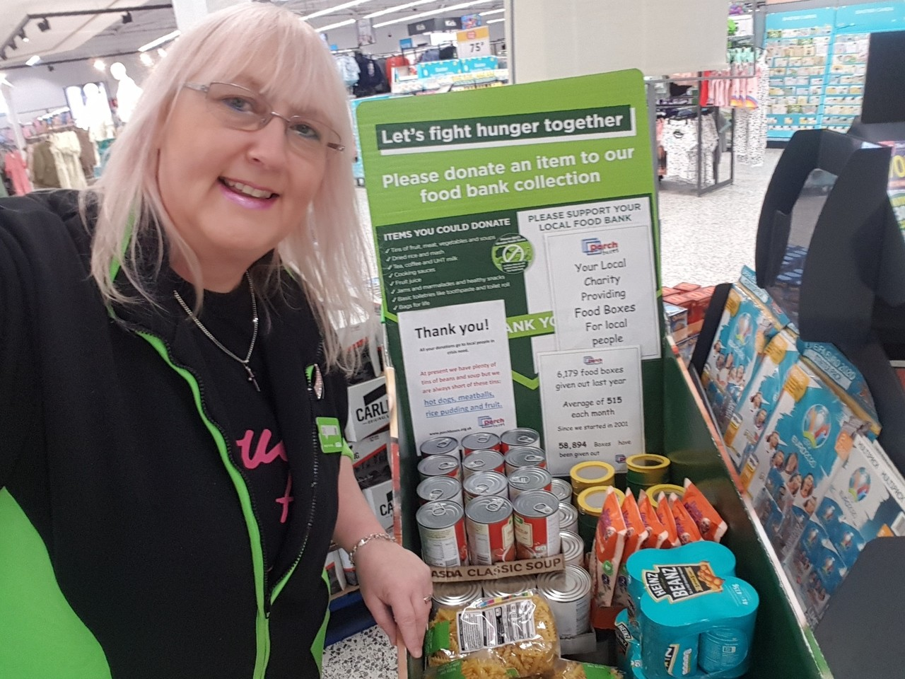 Donation to Porch Boxes scheme | Asda Pilsworth