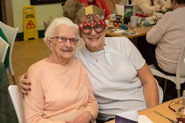 Surprise Christmas party for residents of fire-hit retirement complex in Crewe