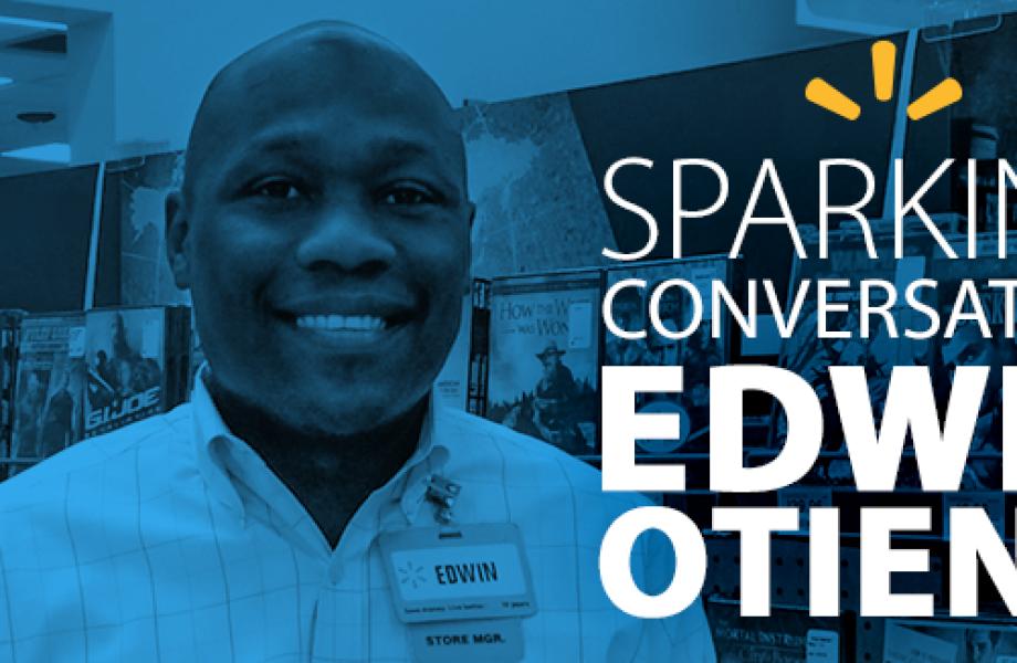 Sparking Conversation -  Edwin Otieno - Blog lead image