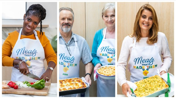 Asda Meals That Made Them Jasmin Cox-Williams Tim Lee Helen Lee and Yvonne Burrage