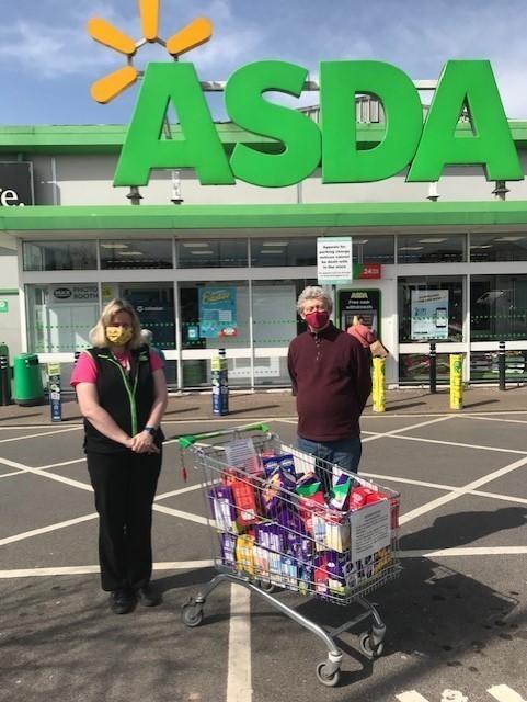 Customer Easter Egg Donation to Home-Start North Dorset   Asda Gillingham