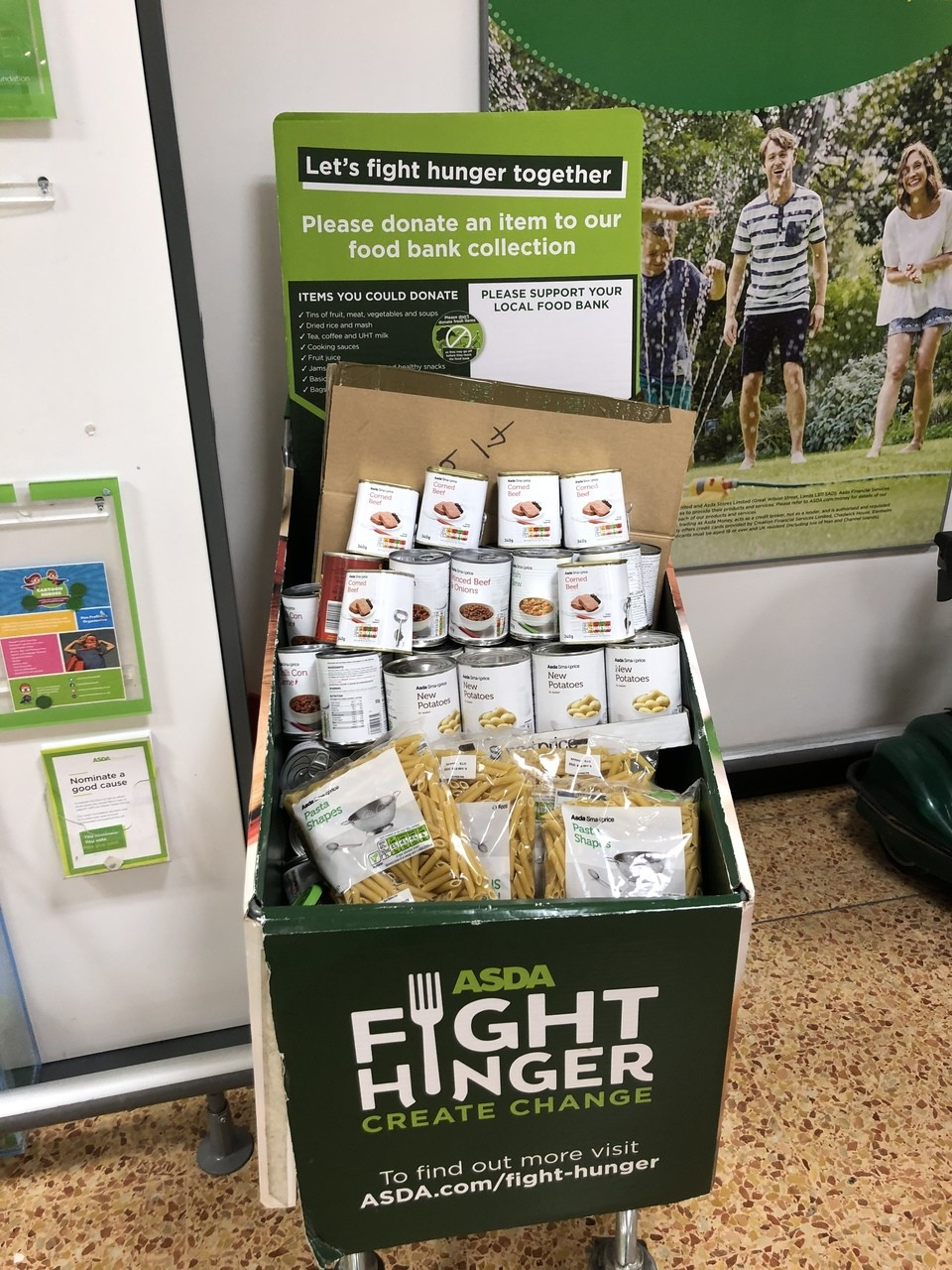 Supporting our food bank  | Asda Derby