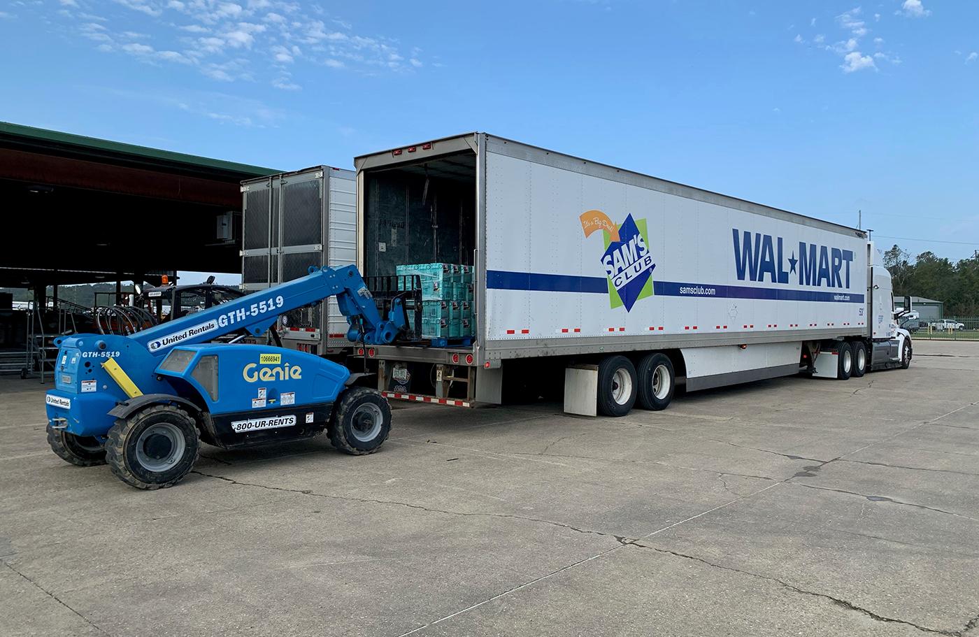 Walmart and Sam's Club Relief Efforts for Hurricane Ida