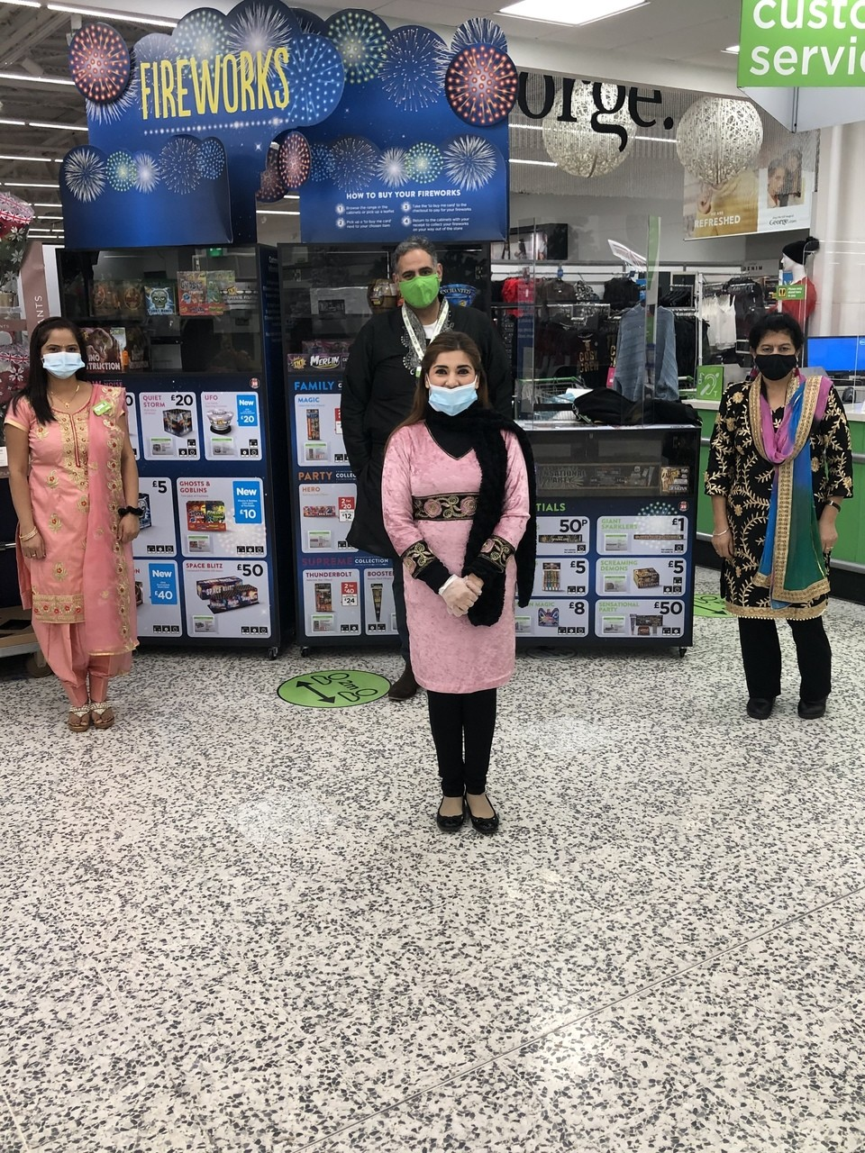 Diwali celebration  | Asda Slough