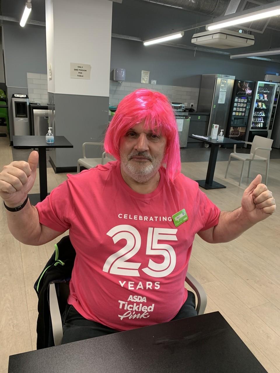 Happy 25th birthday, Tickled Pink   Asda Feltham