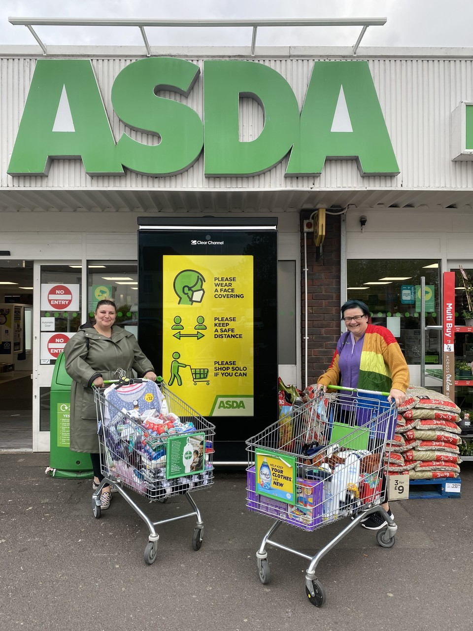 Supporting our community   Asda Gosport