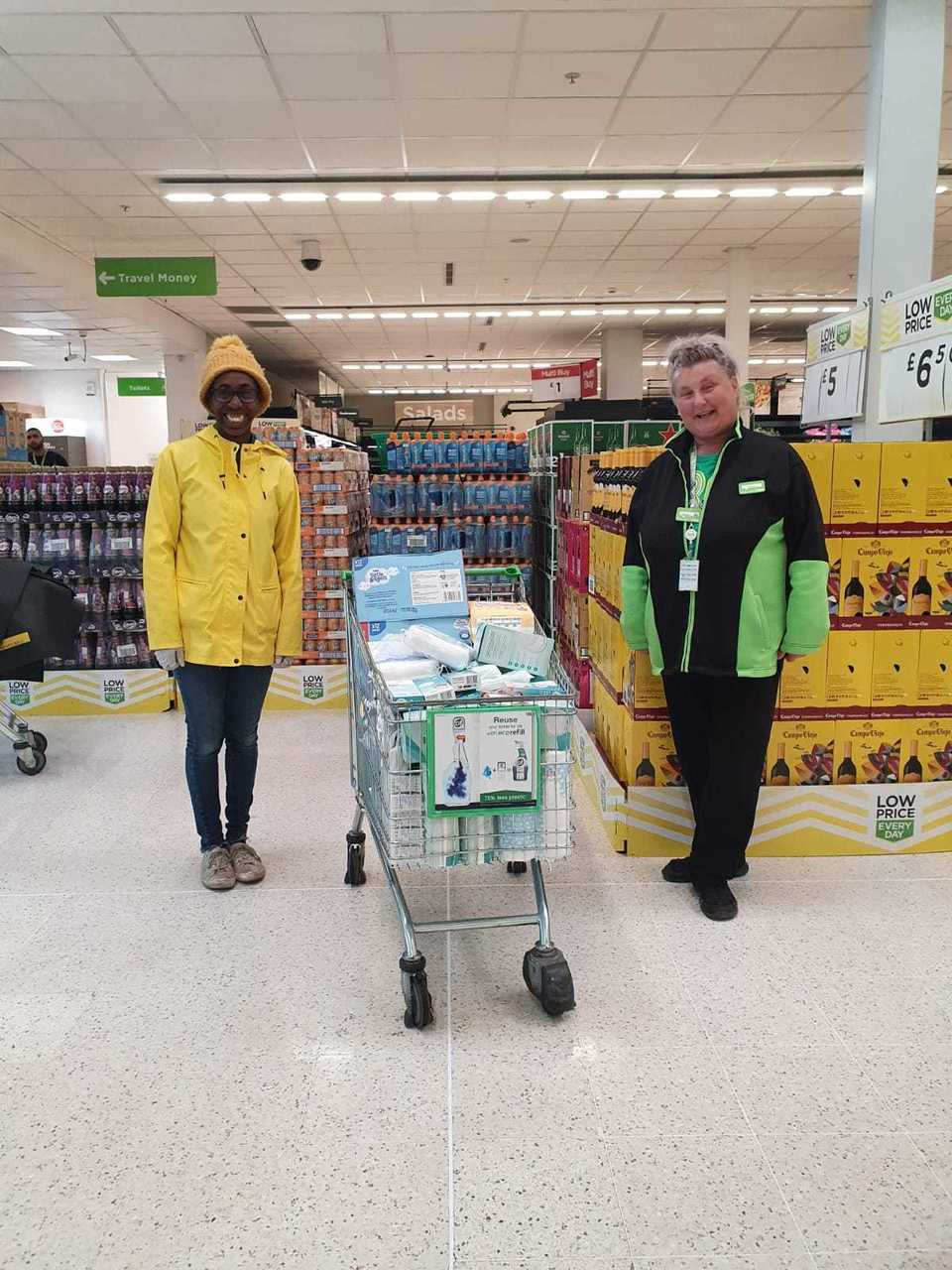 Donation to Baby Bank Central | Asda Queslett
