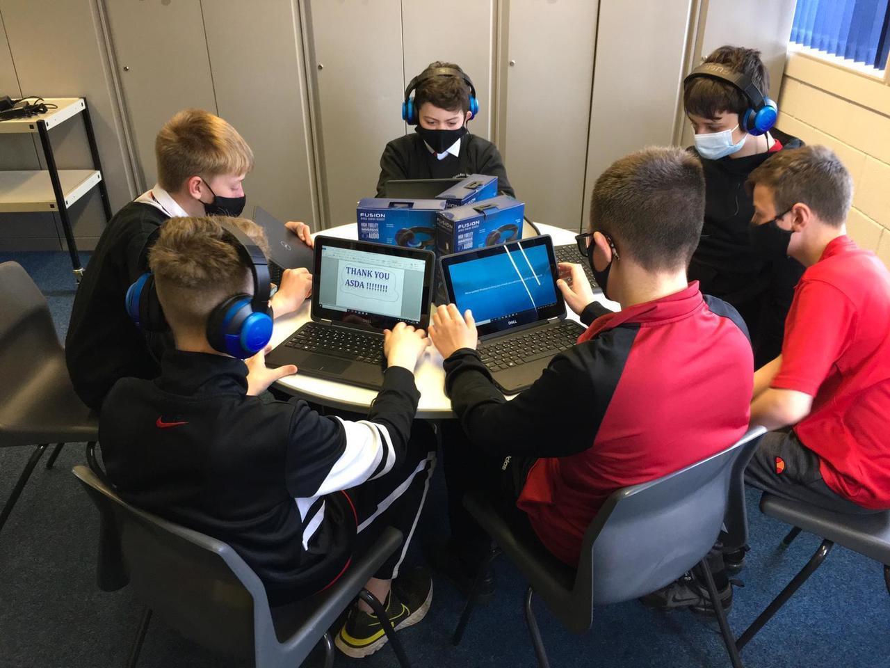 Laptops for Dyce Academy   Asda Dyce