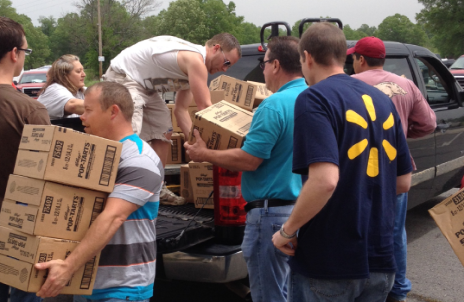 Arkansas Tornado Relief 2014