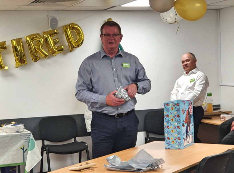 Store manager Ian retires after 38 years with Asda | Asda Tamworth