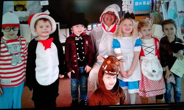 World Book Day at Crofton Hammond Infant School