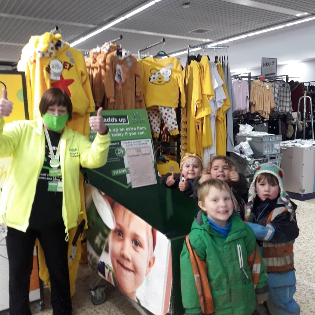 Showing our support for Children in Need | Asda Cramlington