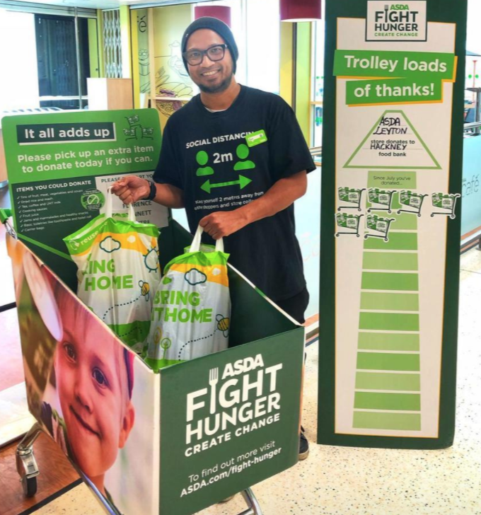 Fight Hunger food drive | Asda Leyton Mills