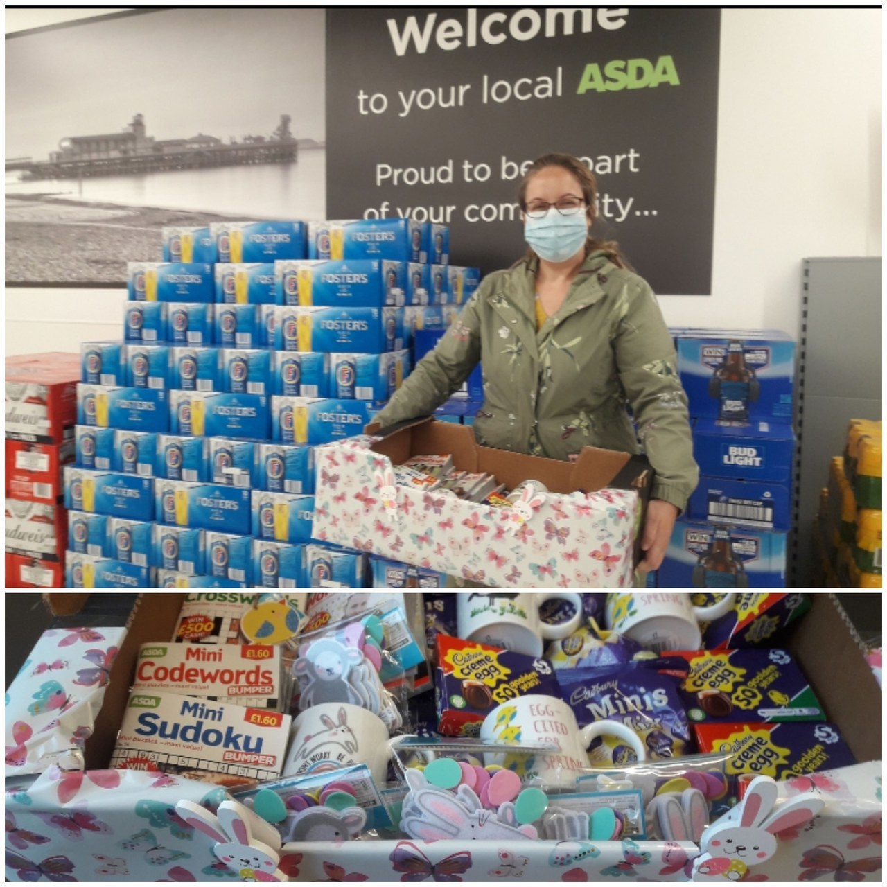 Donation to MHA New Forest | Asda Bournemouth