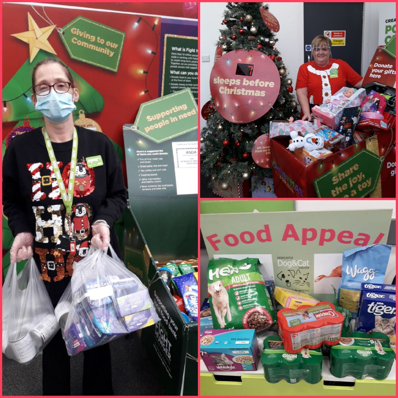 Rachael is supporting charity | Asda Gosforth