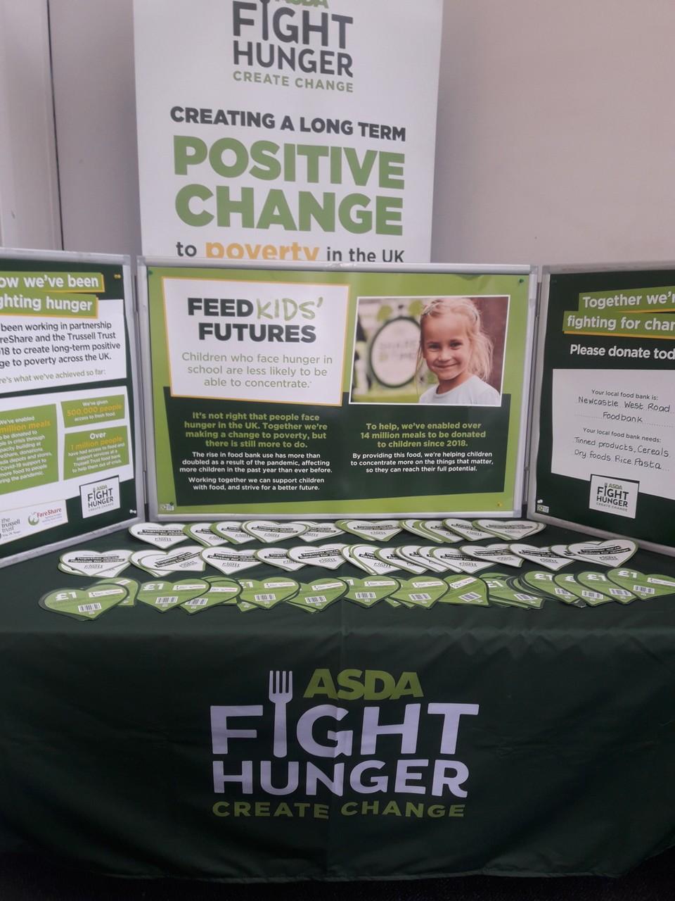 Fight Hunger Create Change | Asda Gosforth