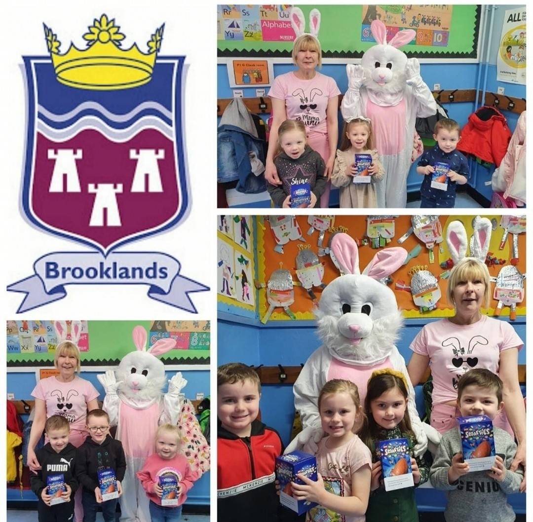 The kids from Brooklands Primary School returned to an Easter treat part donated by ourselves at Asda Dundonald. The teaching staff thought after such a difficult school year so far it wou | Asda Dundonald