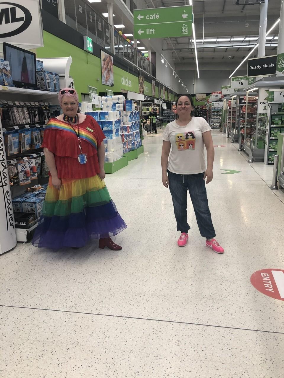 Great day of Rainbows | Asda Portadown