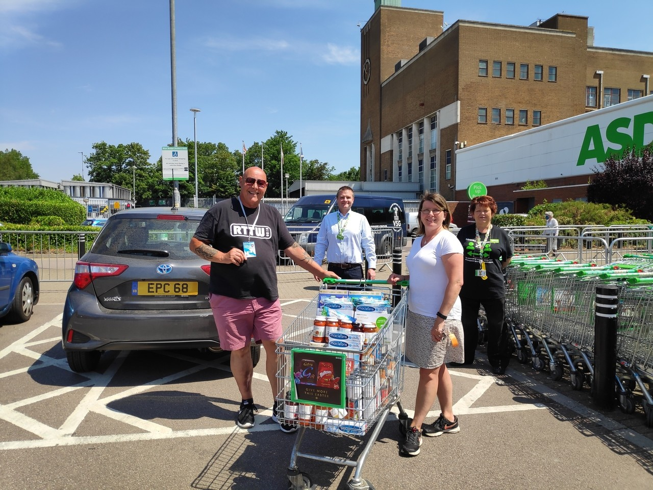 Asda Watford donation to One Vision | Asda Watford