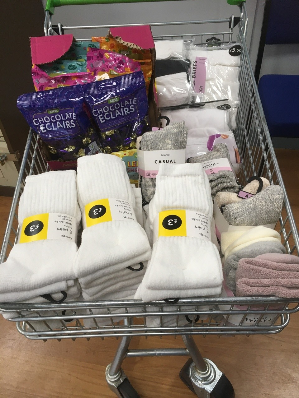Donation for local rough sleepers | Asda Hull
