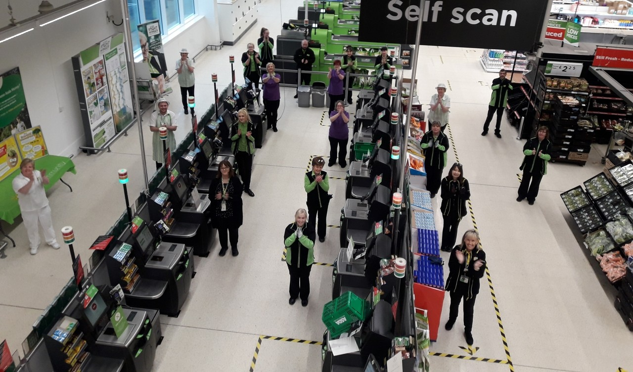 Showing our appreciation for NHS staff and our other key workers | Asda Motherwell