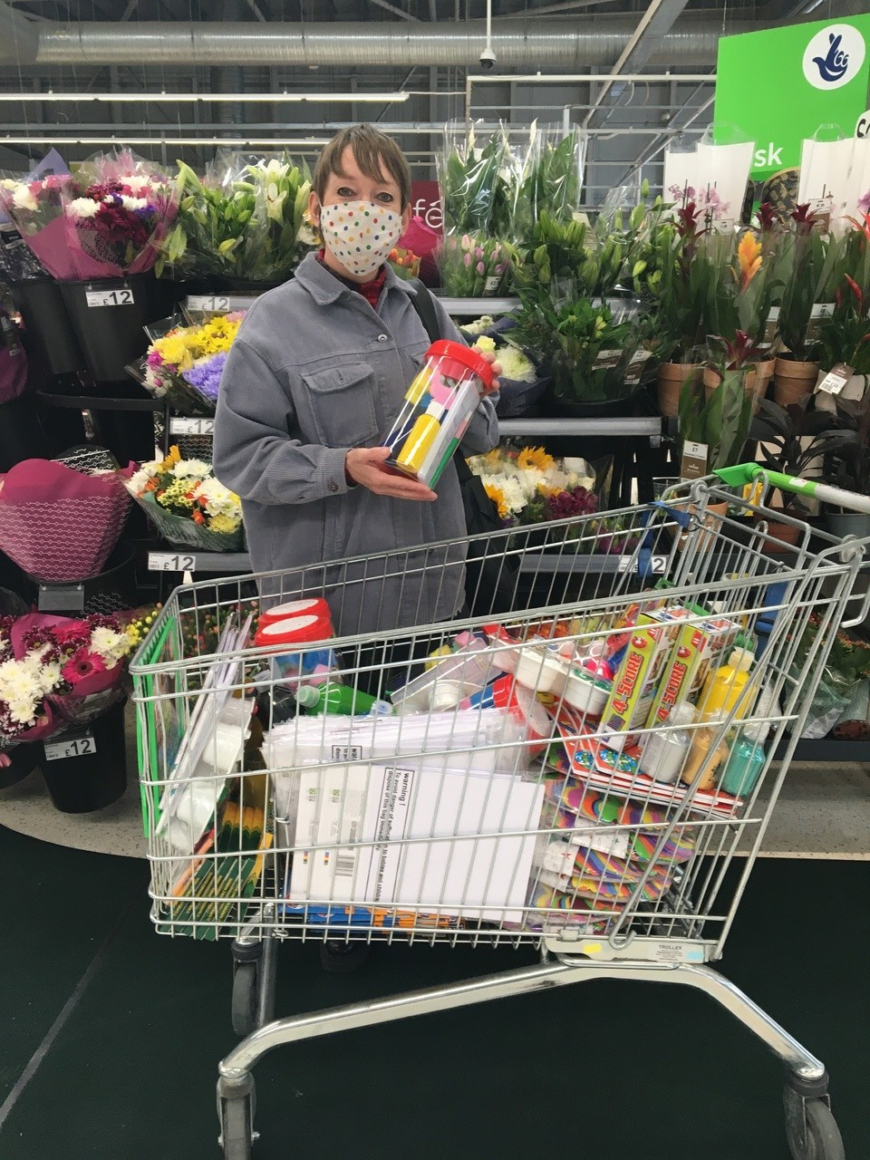 Supporting Ipsum with a Supporting communities Grant from the Asda Foundation  | Asda Swindon Haydon