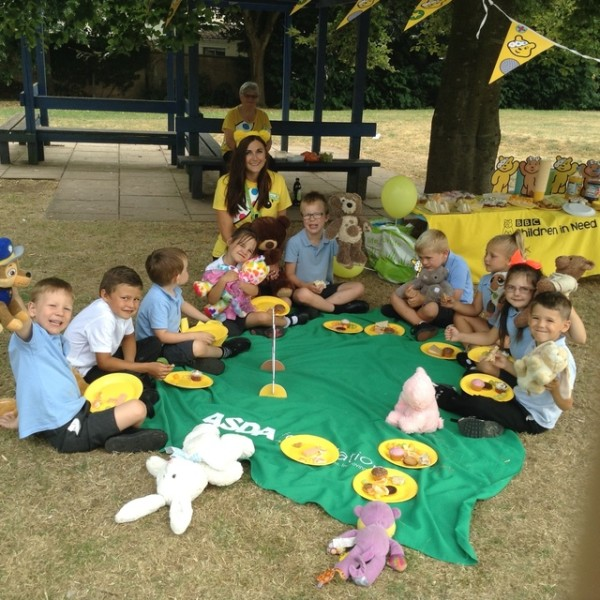 BBC Children in Need picnics with Asda Longwell Green