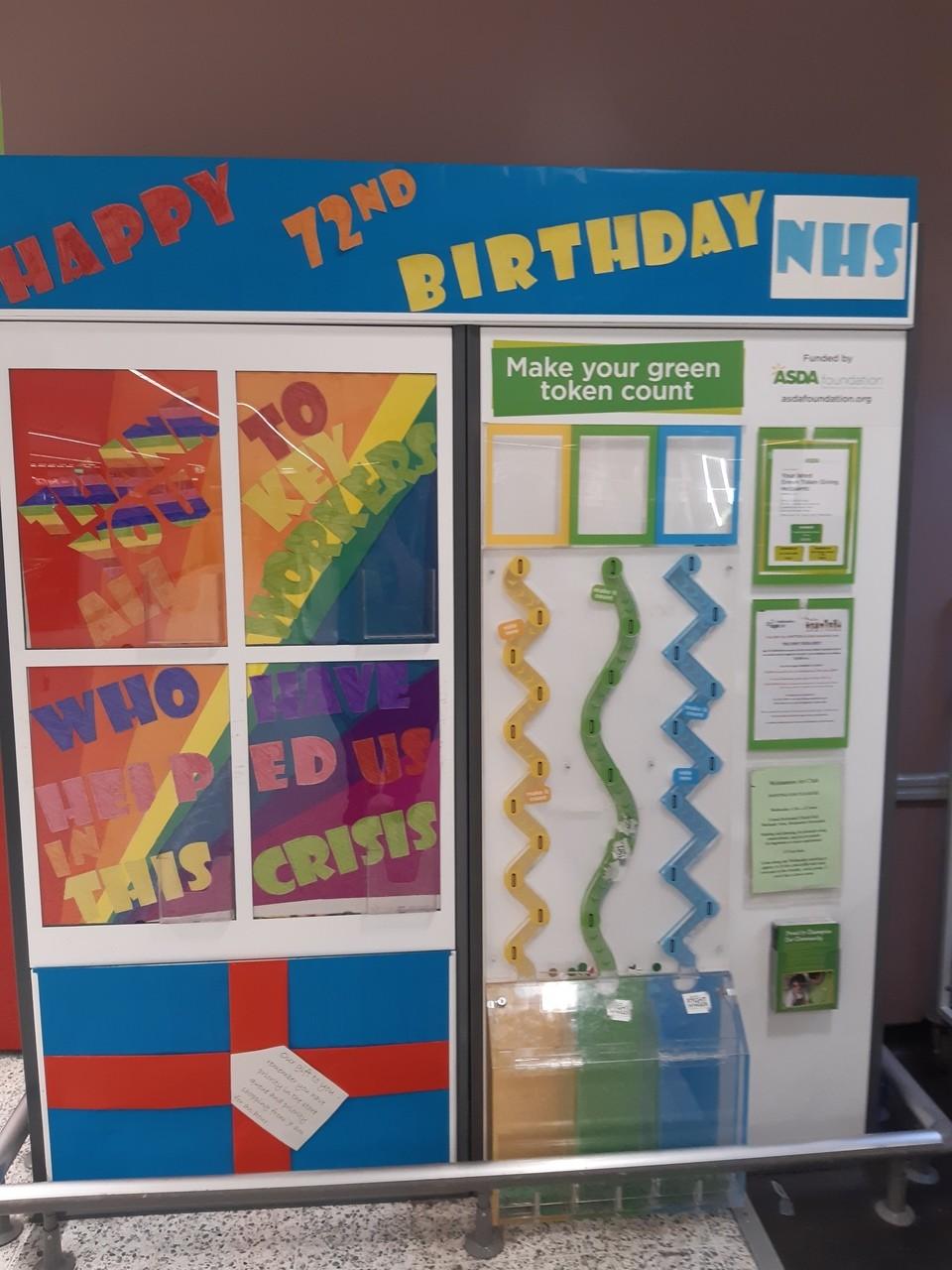 Happy 72nd Birthday NHS | Asda Wolstanton