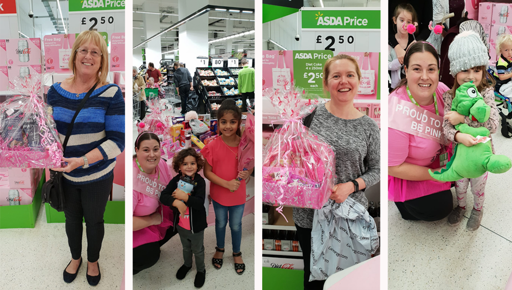 Tickled Pink at Asda Romford