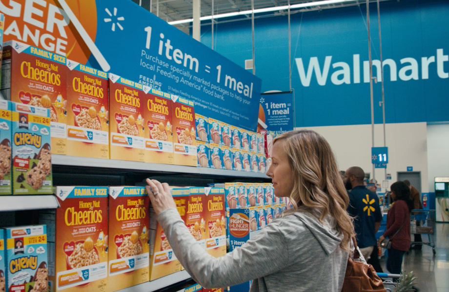 Walmart Spark Shop >> Walmart And Sam S Club S Fight Hunger Spark Change Campaign Aims