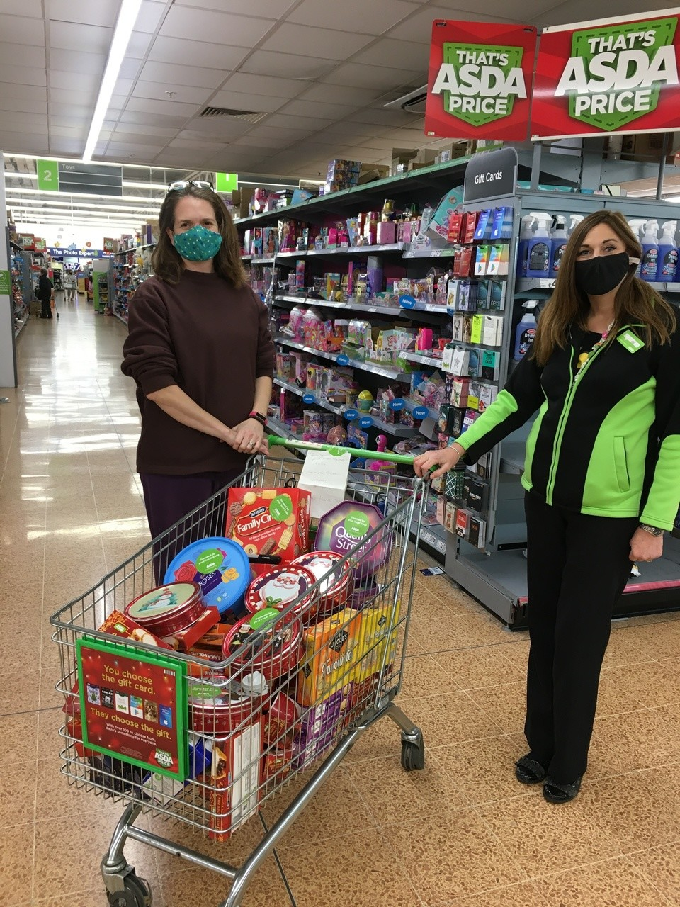 Donations for Southern Brookes Community Parnerships | Asda Longwell Green