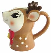 Asda reindeer milk jug