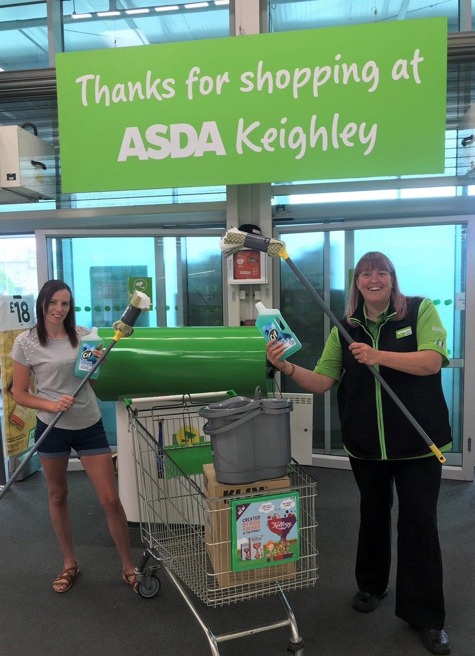 Keeping Hainworth Wood safe! | Asda Keighley