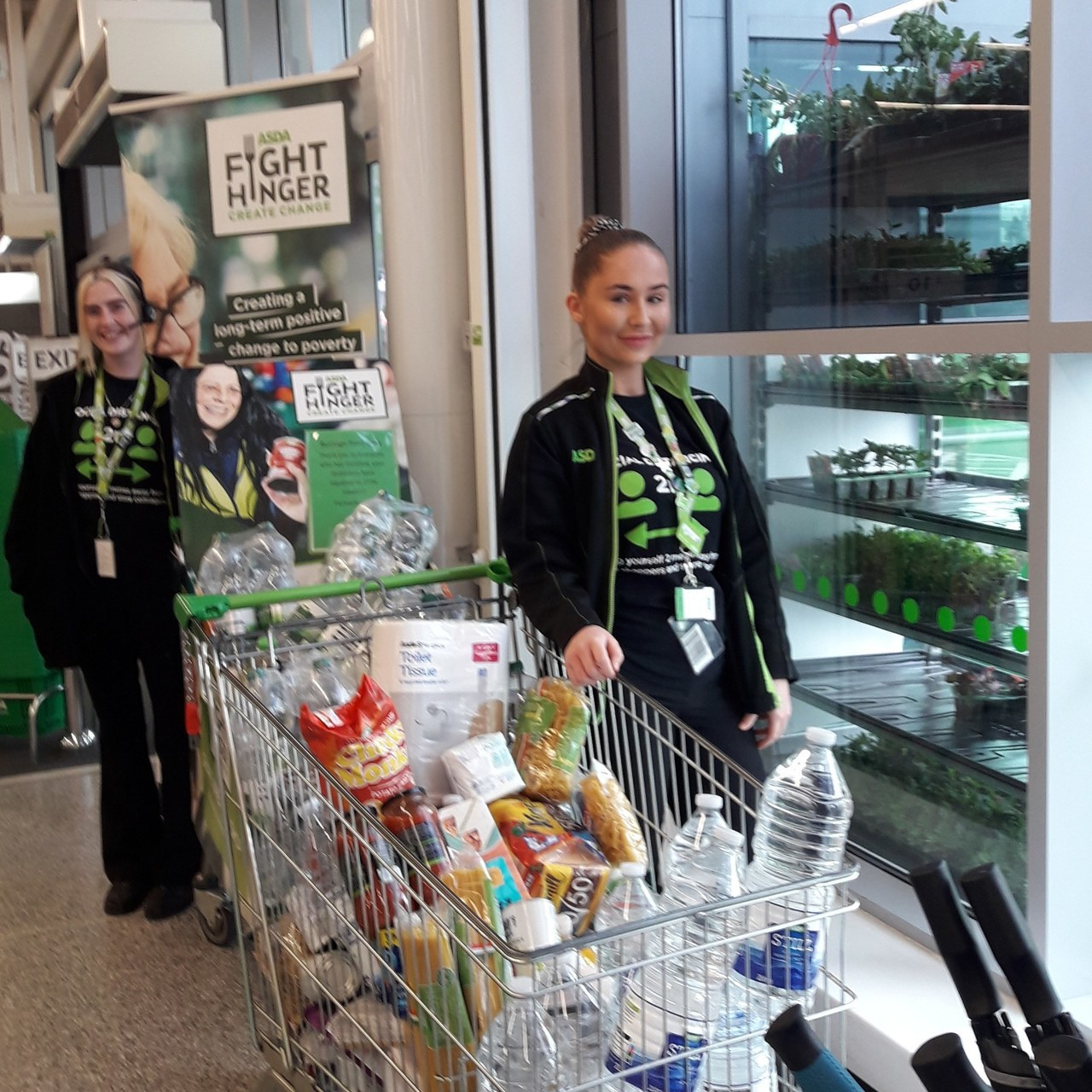 FOODBANK DONATION GENEROSITY  | Asda Reddish