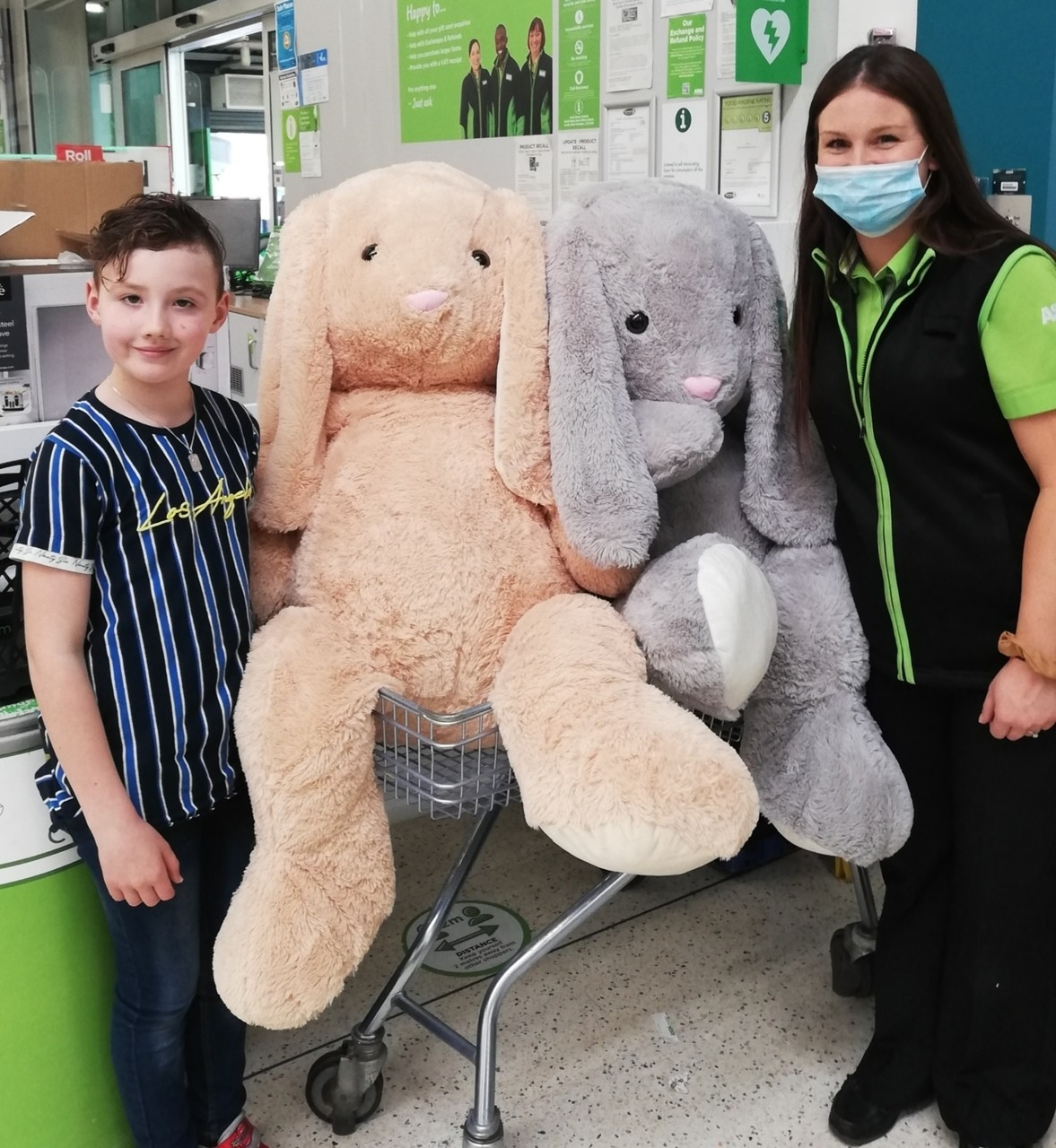 Easter fun for a good cause! | Asda Peterlee