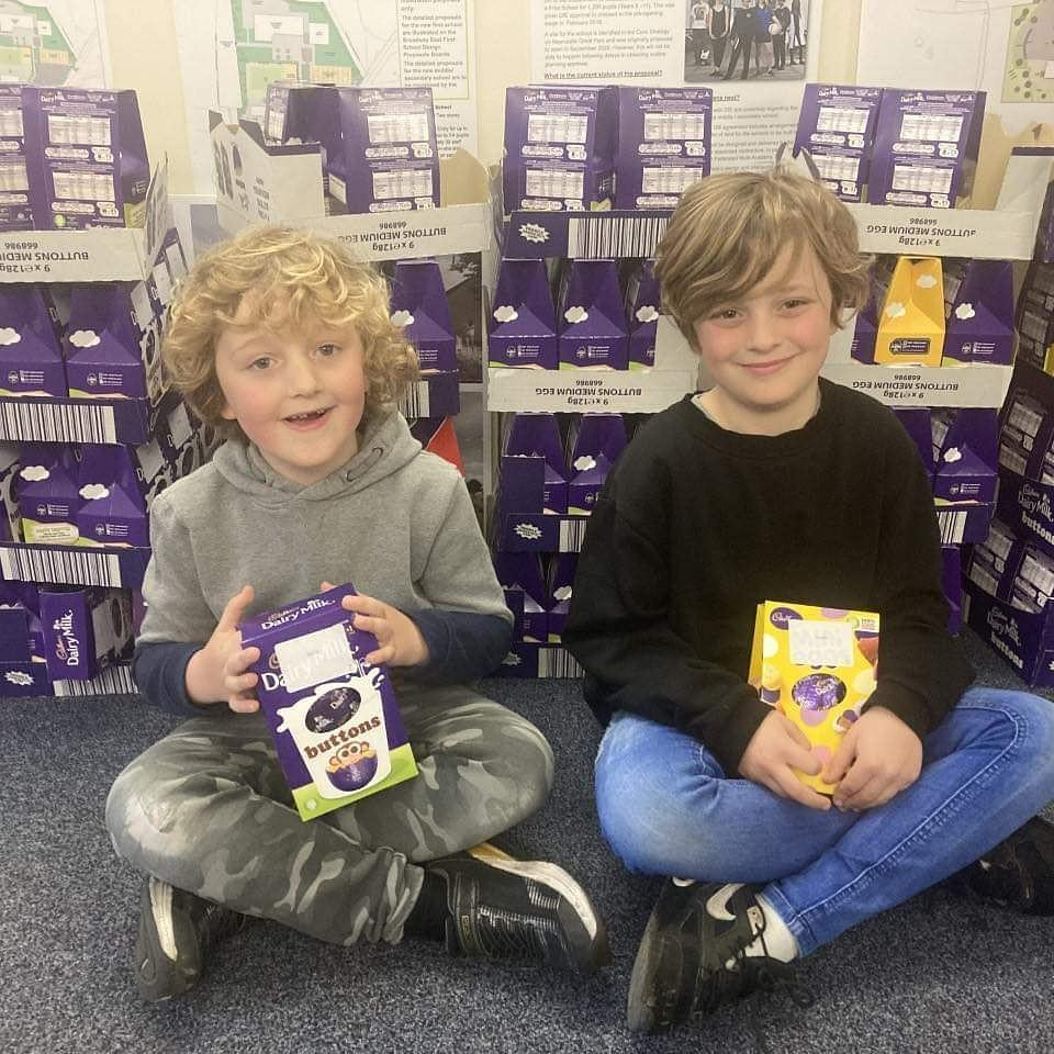 Easter treats thank-you messages | Asda Gosforth