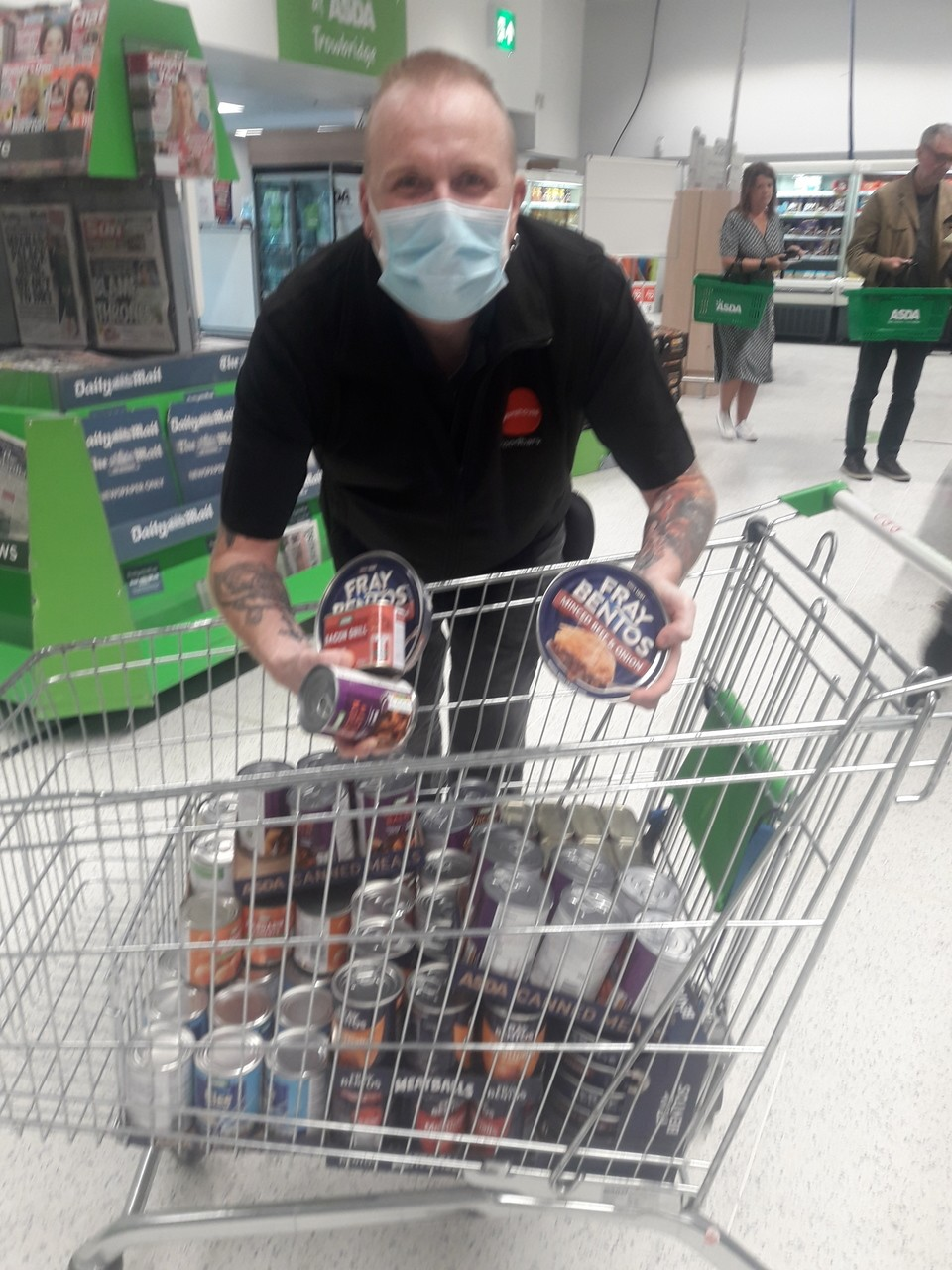Trowbridge foodbank donations | Asda Trowbridge