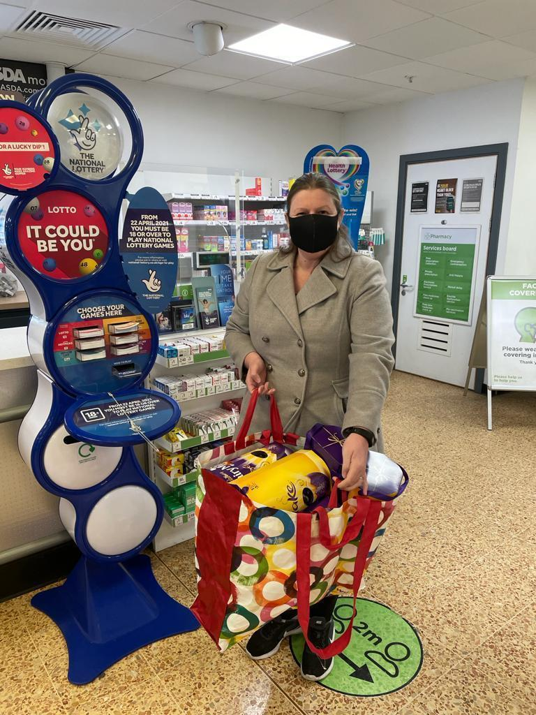 Easter egg donation   Asda Tilbury