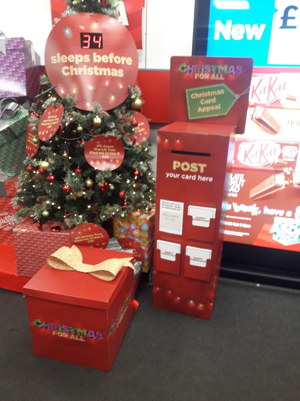 Christmas card appeal  | Asda Golborne