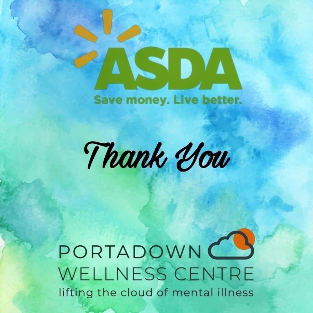 Portadown Wellness Centre thanks | Asda Portadown