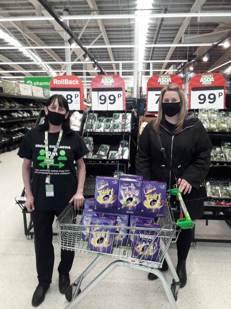 Easter donation | Asda Broadstairs