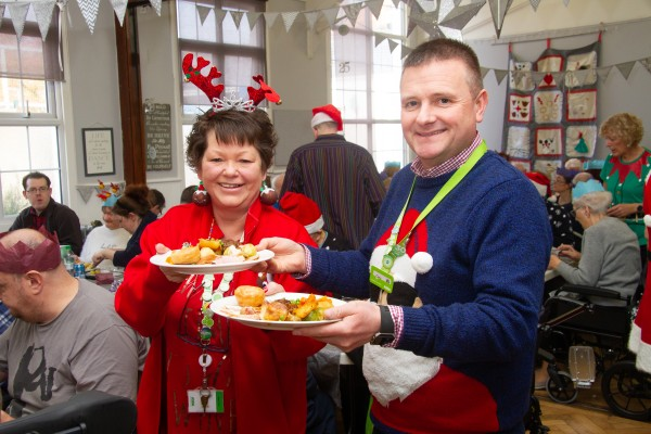 Bev Ashdown from Asda Watford organised an extra special Christmas party for DRUM