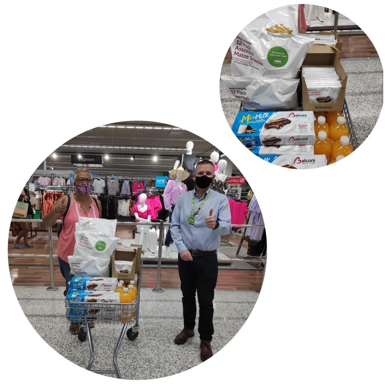 Foodbank support | Asda Watford