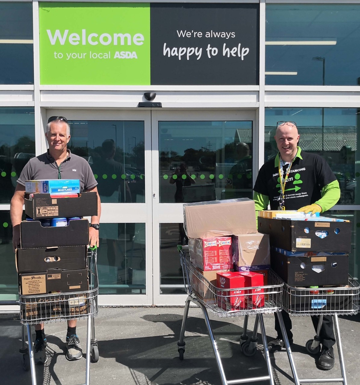 Supporting Northern Devon Foodbank | Asda Bideford