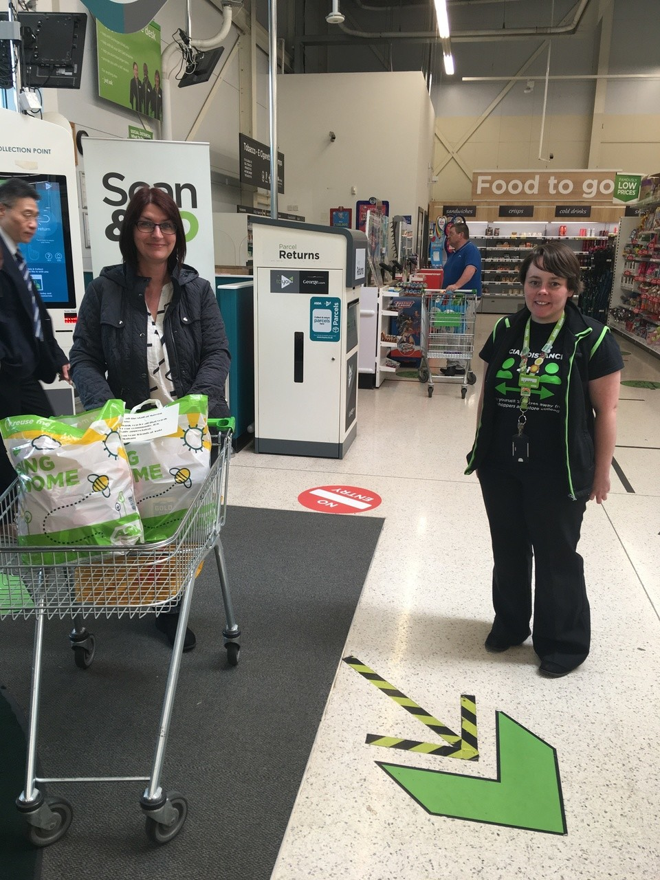 Mavern House Care Home donation | Asda Melksham