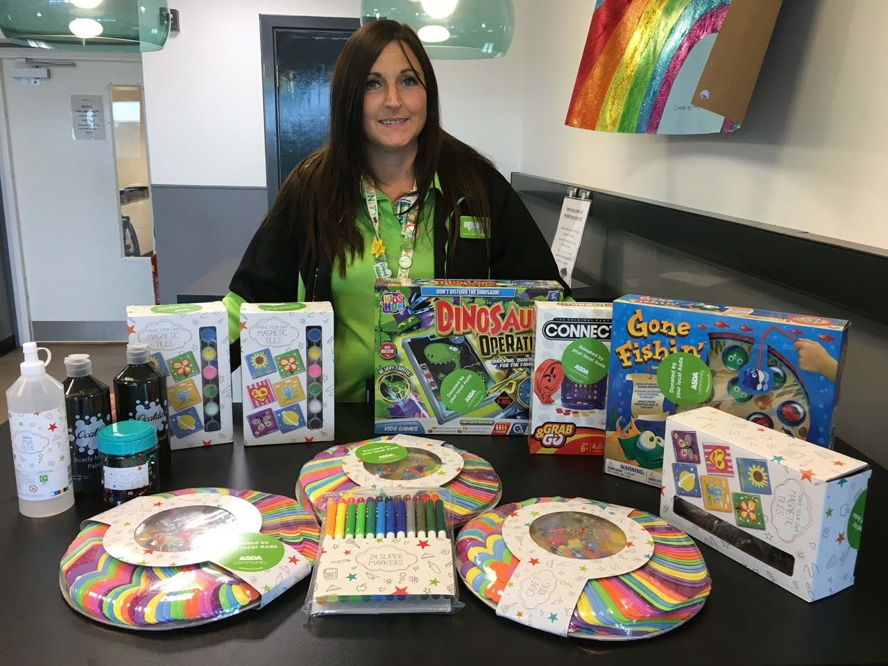 Beacon Rise Primary School donation  | Asda Longwell Green