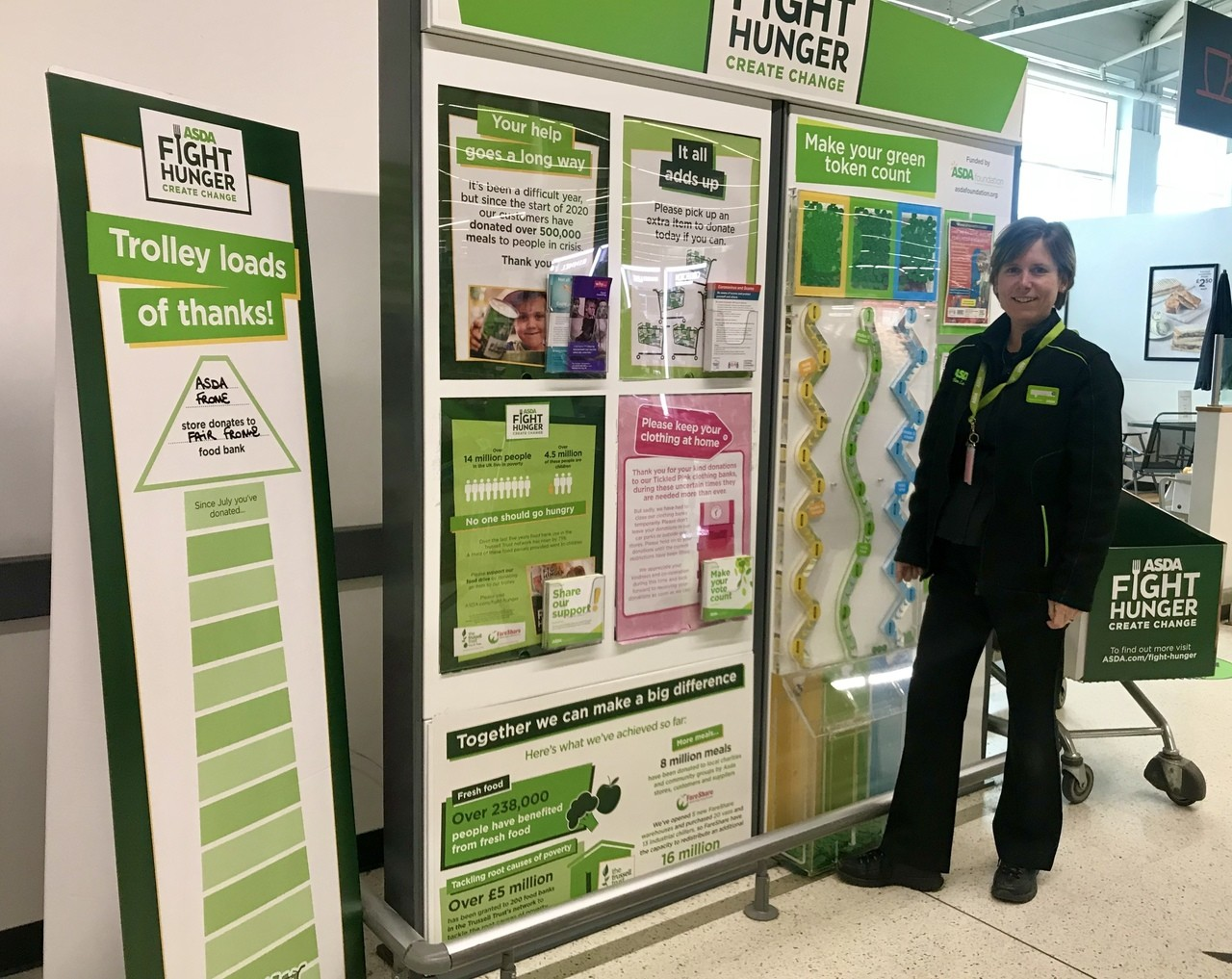 Fight Hunger Create Change | Asda Frome