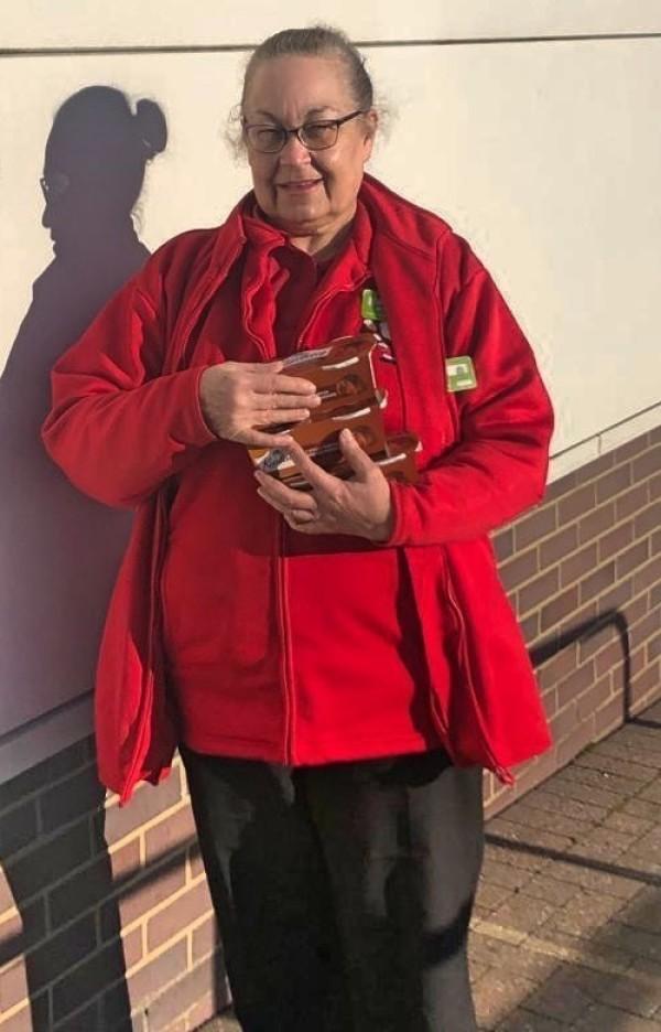 Jackie Carroll from Asda Hartlepool