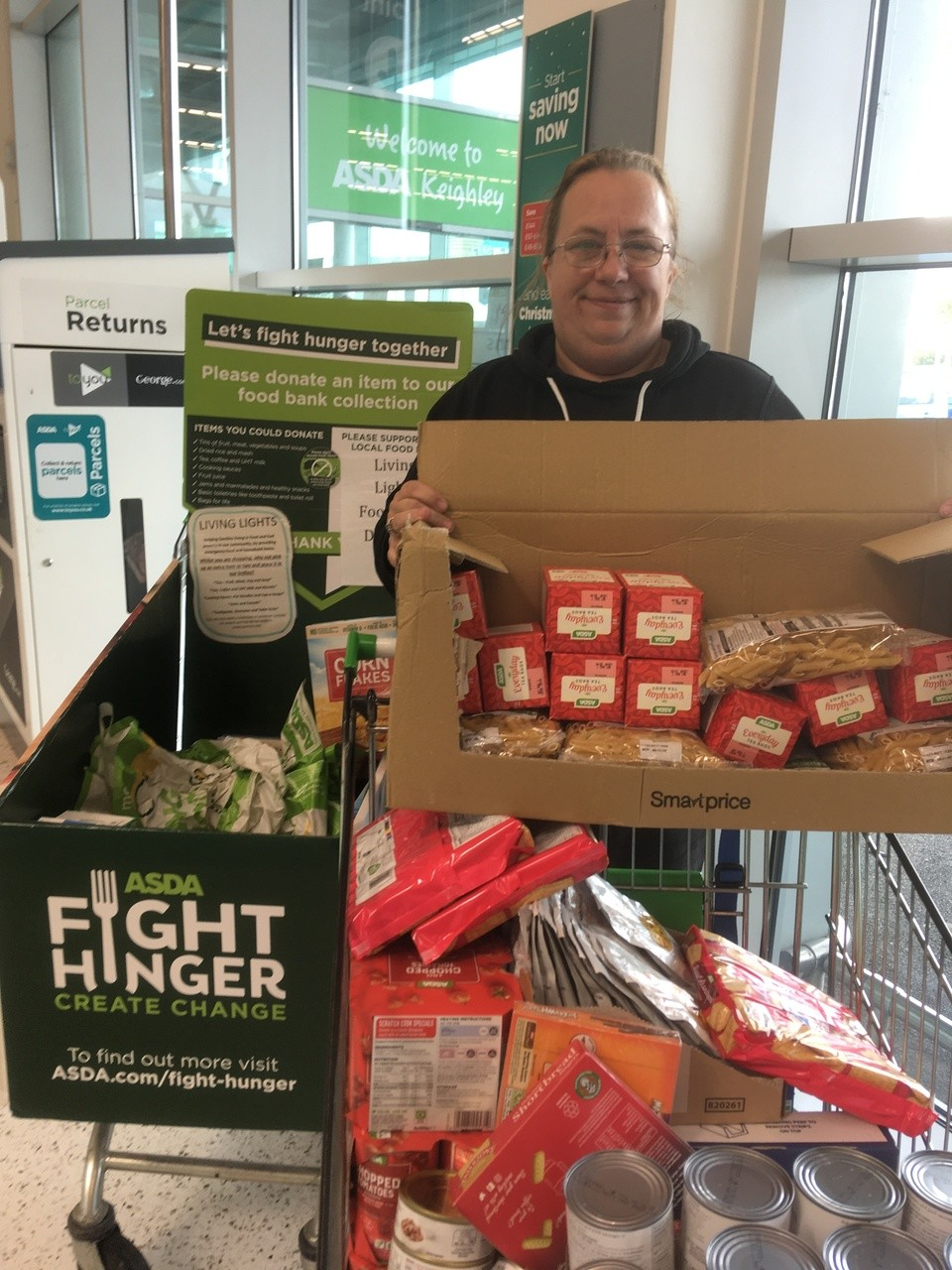 Asda Keighley thanks generous customers | Asda Keighley
