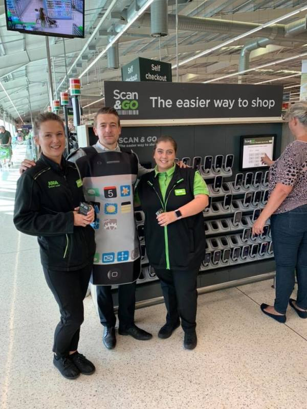 Innovation projects being tested at Asda Stevenage